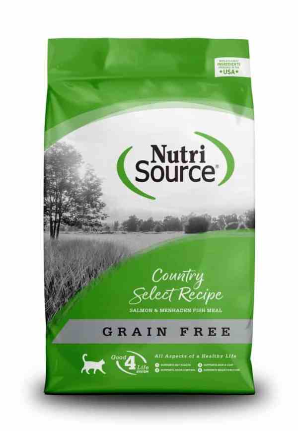 Nutri Source Country Select Front of Bag