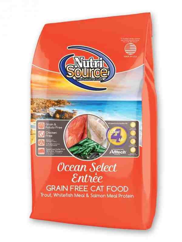 Nutri Source Ocean Select Front of Bag