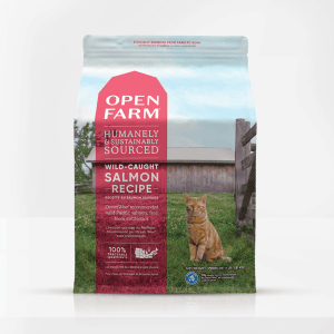 Open Farm Salmon Front of Bag