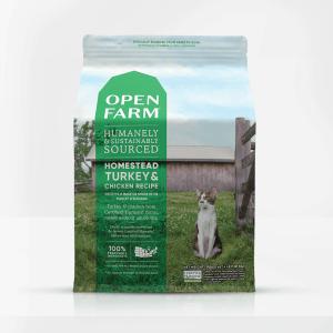 Open Farm Turkey Front of Bag
