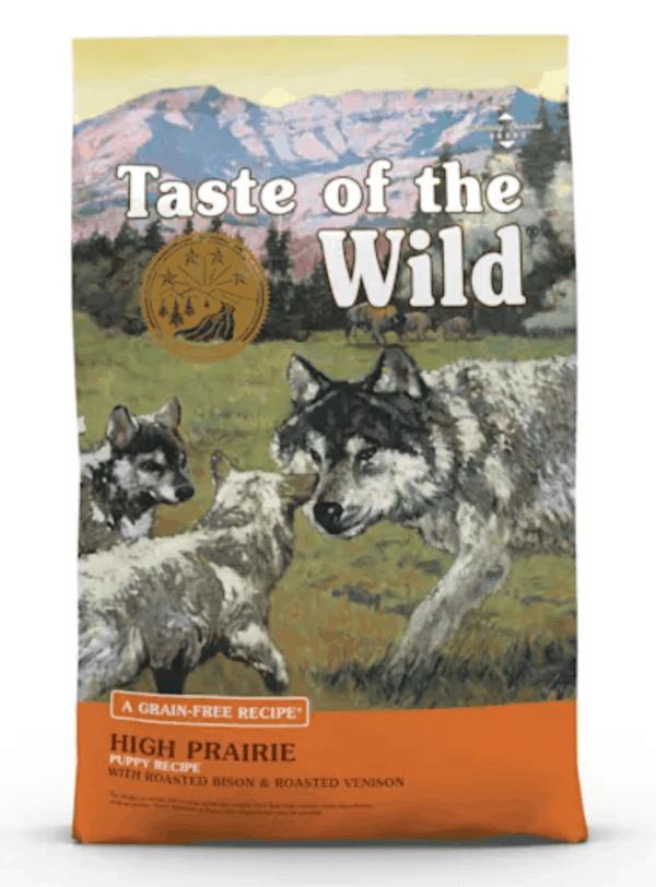 Taste of the Wild High Prairie Puppy Front of Bag