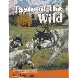 Taste of the Wild High Prairie Puppy Front of Bag