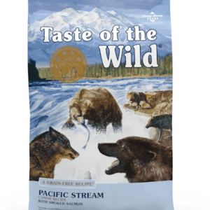 Taste of the Wild Pacific Stream Front of Bag
