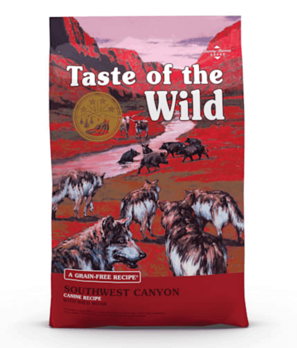 Taste of the Wild Southwest Canyon Front of Bag