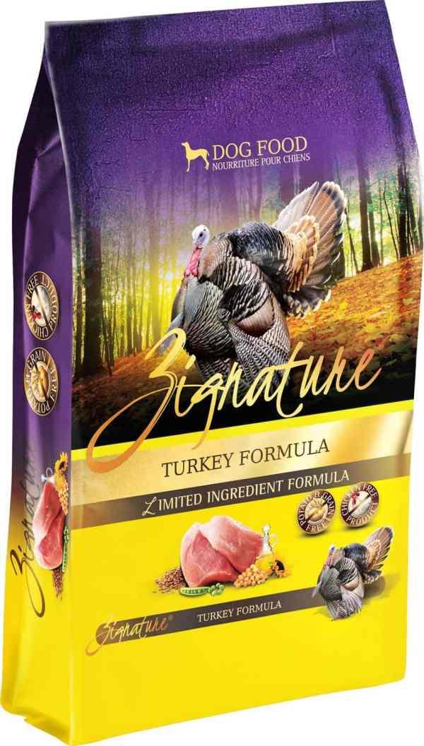 Zignature Turkey Front of Bag