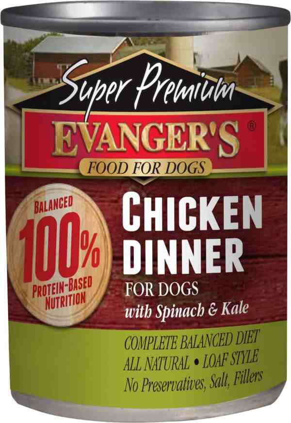 Chicken Dinner front of can