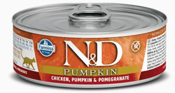Chicken Pumpkin Pomegranate front of can