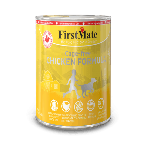 Firstmate Chicken canned food