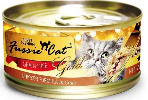 Fussie cat chicken canned cat food