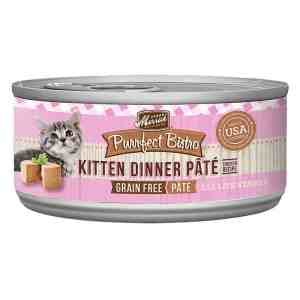 Merrick kitten dinner 5.5oz canned food