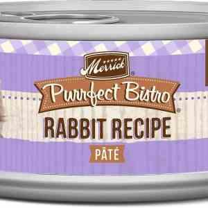 Merrick rabbit recipe canned cat food 5.5oz