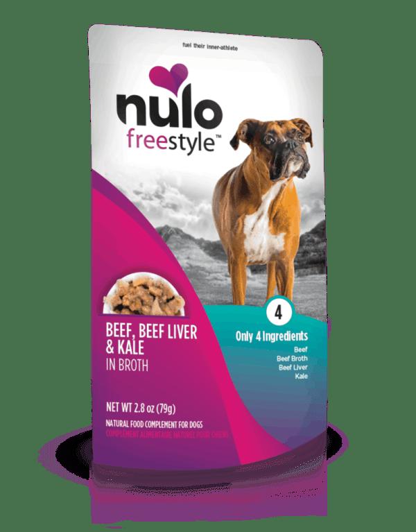 Nulo beef liver kale 2.8oz wet dog food