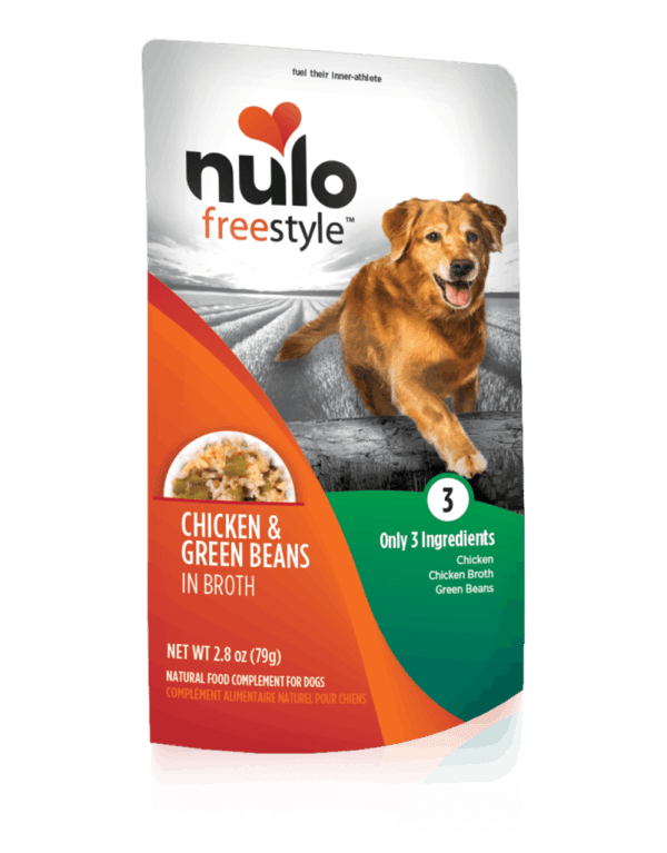 Nulo chicken and green beans 2.8oz wet dog food