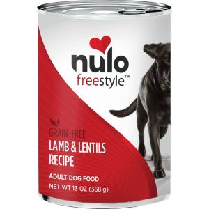 Nulo lamb lentils canned dog food 13oz