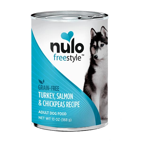 Nulo Turkey salmon chickpeas canned dog food 13oz
