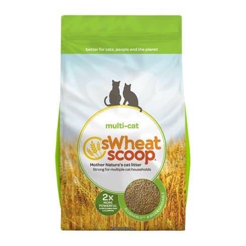 Swheat scoop multicat litter