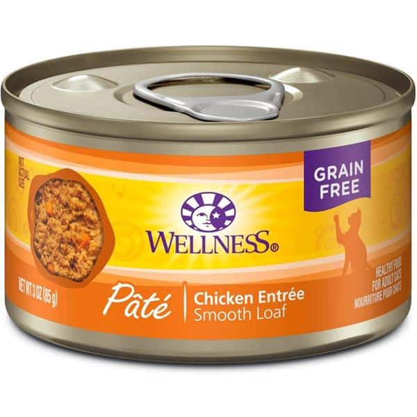 Wellness chicken canned cat food 5.5oz