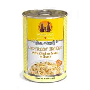 Weruva paw lickin chicken 14oz canned dog food