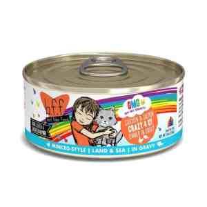 Weruva BFF omg crazy 4 u chicken salmon canned cat food 5.5oz