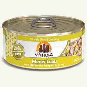Weruva meow luau canned cat food 5.5oz