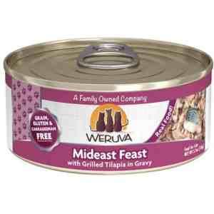 Weruva Mideast Feast 5.5oz canned cat food