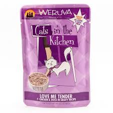 Weruva love me tender cat wet food pouch 3oz