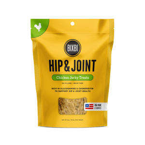 Bixbi Hip and Joint Chicken Jerky 4oz