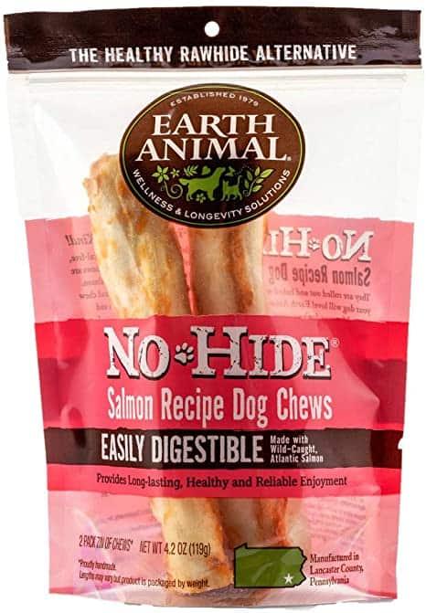 Earth Animal No Hide Salmon Chews 2-pack