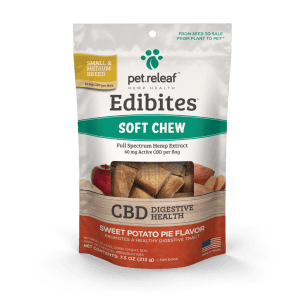 Pet Releaf Edibites Sweet Potato Pie Small/Medium Breed