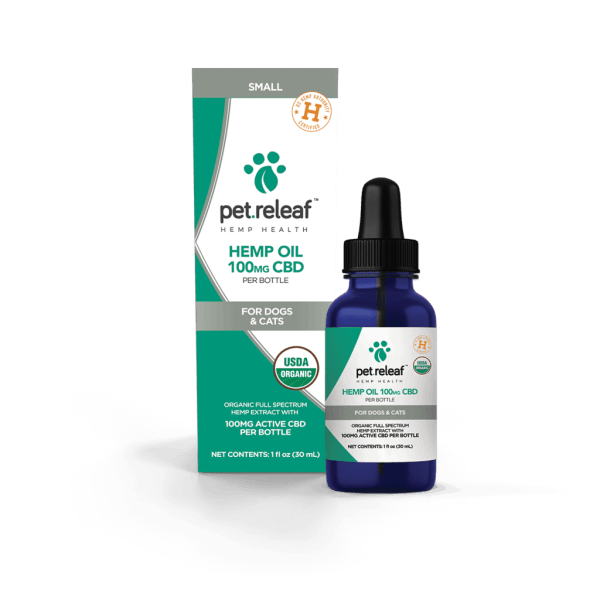 Pet Releaf 100mg CBD Hemp Oil