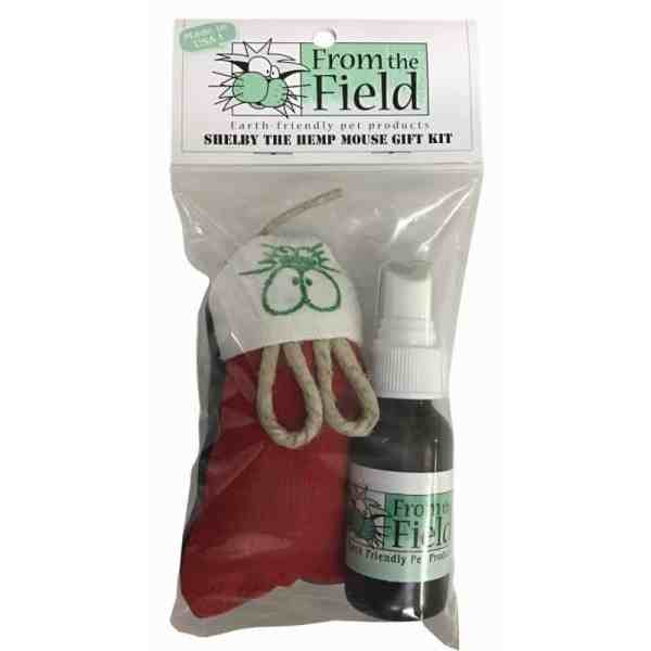 From the Field Hemp Mouse and Catnip Spray