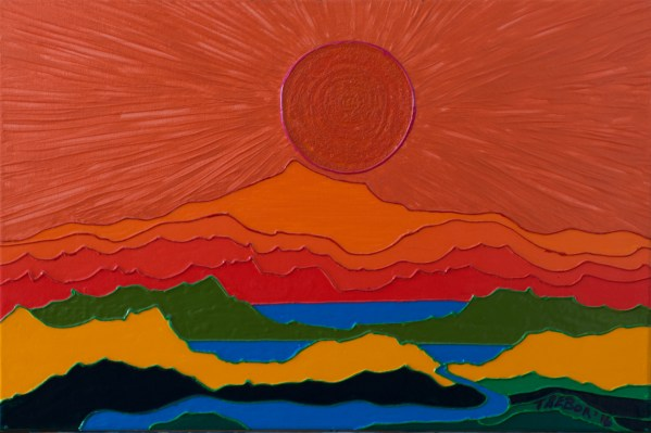Burning Sun - Colorist Art - Gatineau Hills Collection 3-1-3 #1
