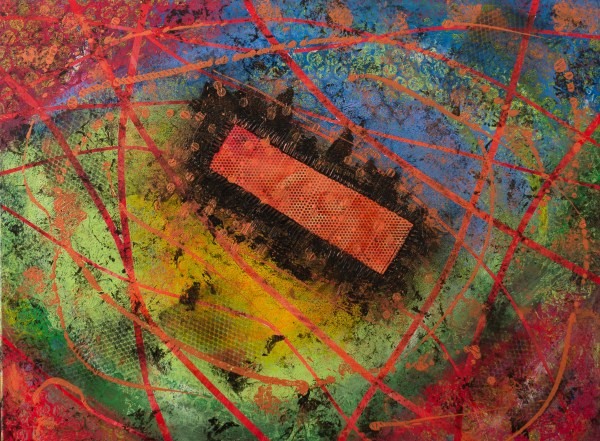 Jerry - Abstract Art – Hurricane Season 2019 - 3-2-1 #8