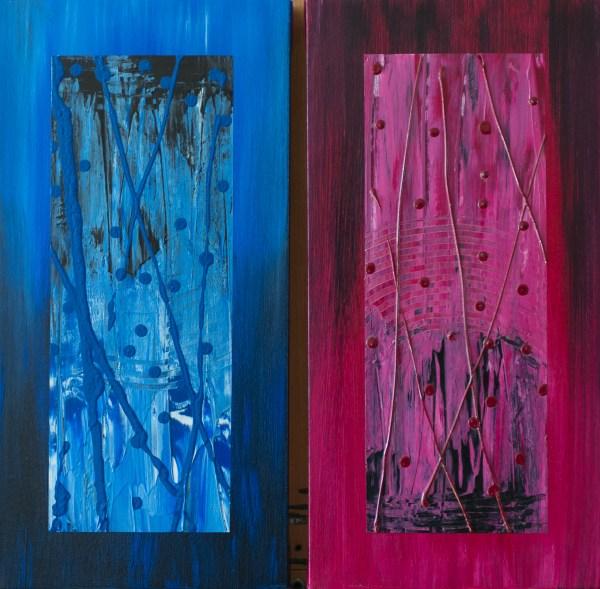 Joyce 2 - Abstract Art – Hurricane Season 2018 - 3-2-2- #6