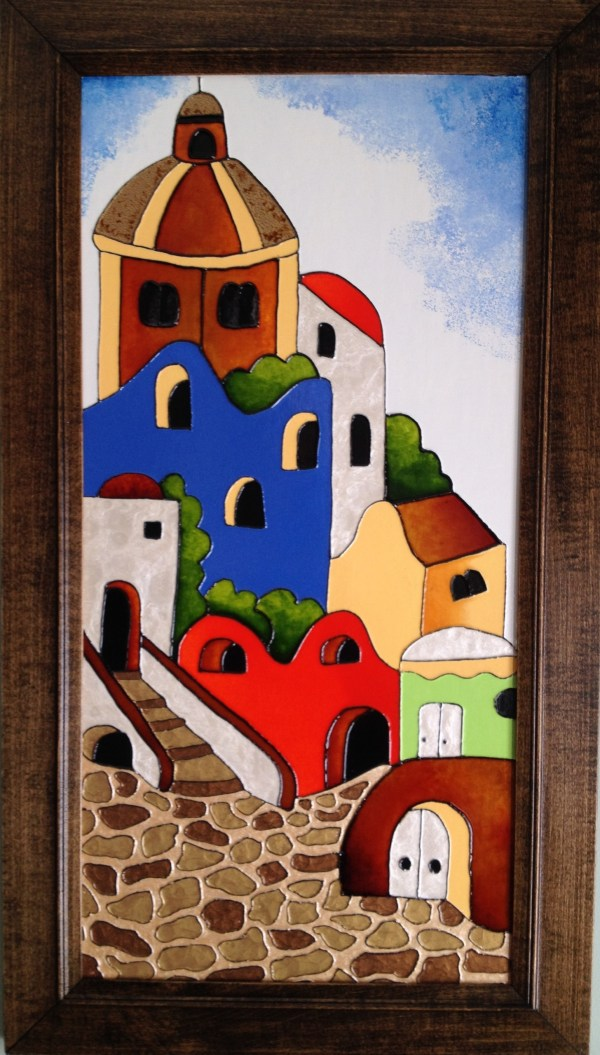 Mediterranean Village - Colorist Art - Urban Collection 3-1-6 #4