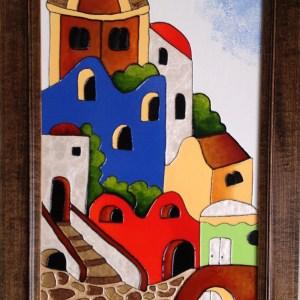 Mediterranean Village - Colorist Art - Urban Collection 3-1-6 #4