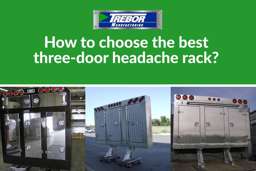 best 3 door headache rack for you