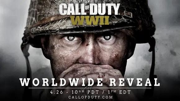WWII já foi anunciado — Call of Duty