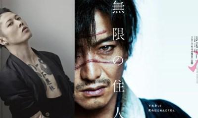 """A estréia do live-action do mangá de Hiroaki Samura, Blade of the Immortal """"neo period drama"""" será no dia 19 de abril. A produção tem tudo para ser sucesso."""