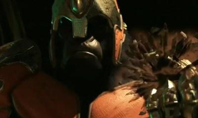 No trailer, Gorila Grodd está mais poderoso do que nunca, e planeja agora formar um exército imbatível para acabar de vez com a Liga da Justiça.