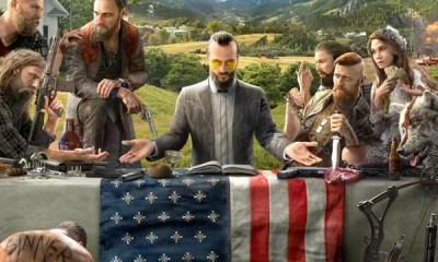 A Ubisoft liberou recentemente a primeira imagem do título Far Cry 5, a sequência da aclamada franquia de jogos de tiro em primeira pessoa. Confira!