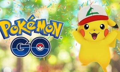A Niantic liberou o evento de comemoração do aniversário de 1 ano de Pokémon Go. A grande novidade é poder capturar um Pikachu com o boné do Ash. Confira!