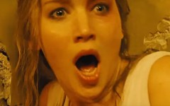 Jennifer Lawrence aparece aterrorizada no primeiro trailer de Mother!