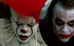 Referência! | Bill Skarsgård se inspirou no Coringa de Heath Ledger para compôr Pennywise, de It