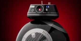 Durante a Force Friday foram apresentadas diversas novidades em colecionáveis da franquia Star Wars. Dentre elas uma figure baseada no novo droide BB-9E.