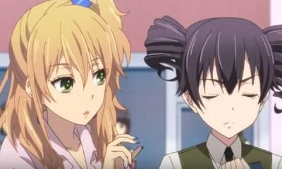 O mangá yuri Citrus, que narra o romance entre as colegiais Yuzuku e Mei, ganha primeiro teaser da adaptação para anime. Confira.
