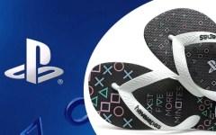 Havaianas lança chinelos com temática PlayStation