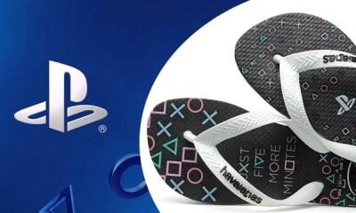 A grife Havaianas acaba de lançar novos modelos de chinelos tematizados com elementos da marca PlayStation. O resultado ficou incrível! Confira!