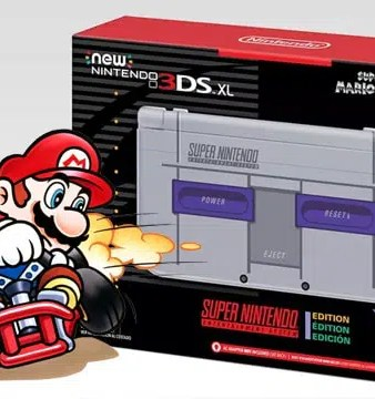 New Nintendo 3DS XL ganha versão com visual do Super Nintendo