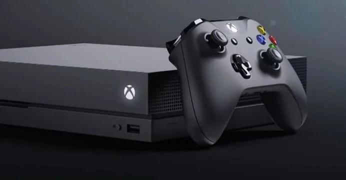 Xbox One X na BGS 2017